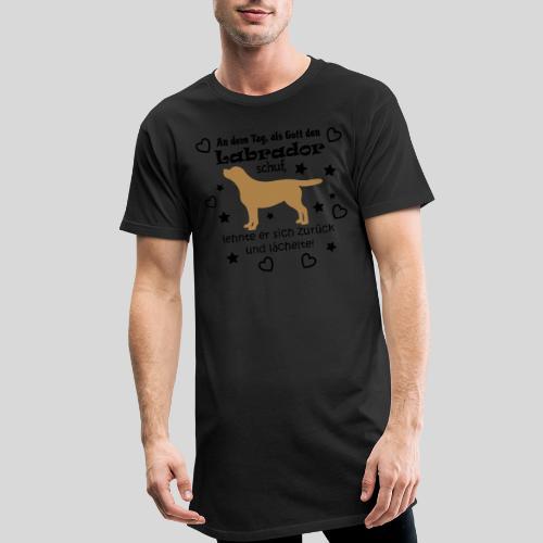 Als Gott den Labrador schuf... - Männer Urban Longshirt