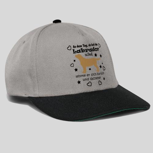 Als Gott den Labrador schuf... - Snapback Cap