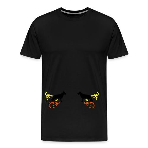 Schäferhund - Männer Premium T-Shirt