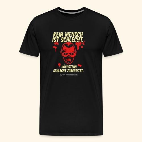 Kein Mensch ist schlecht - Männer Premium T-Shirt
