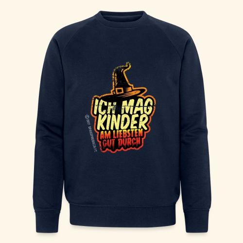 Ich mag Kinder ... am liebsten gut durch - Männer Bio-Sweatshirt von Stanley & Stella