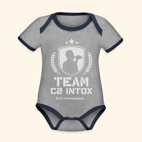 Malle-Shirt Team C2 Intox - Baby Bio-Kurzarm-Kontrastbody