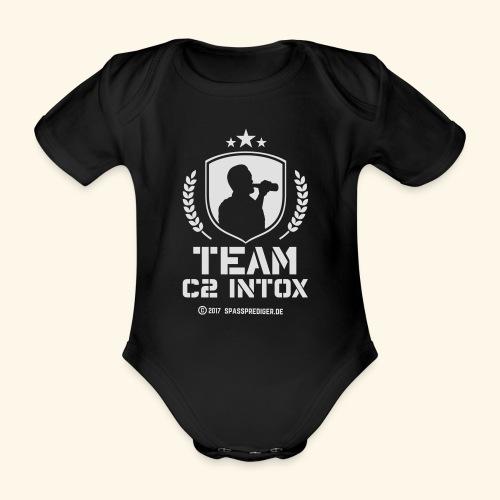 Malle-Shirt Team C2 Intox - Baby Bio-Kurzarm-Body