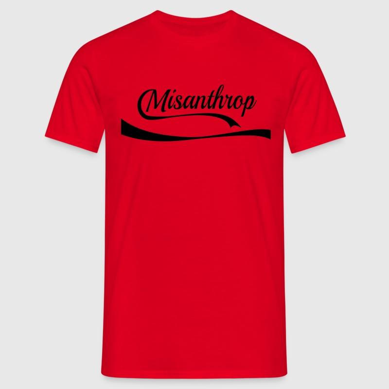 Misanthrop T-Shirts - Männer T-Shirt