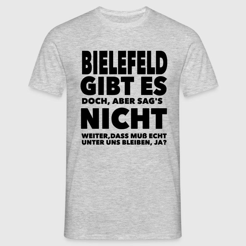 Bielefeld gibt es doch T-Shirts - Männer T-Shirt