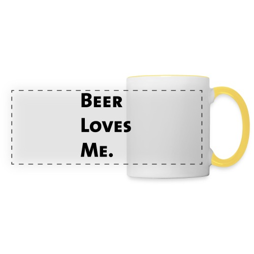 Beer Loves Me - Taza panorámica