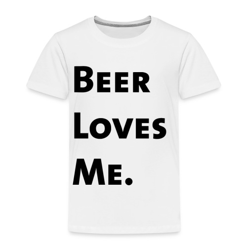 Beer Loves Me - Camiseta premium niño
