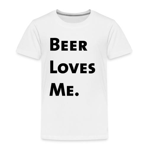 Beer Loves Me - Camiseta premium niño