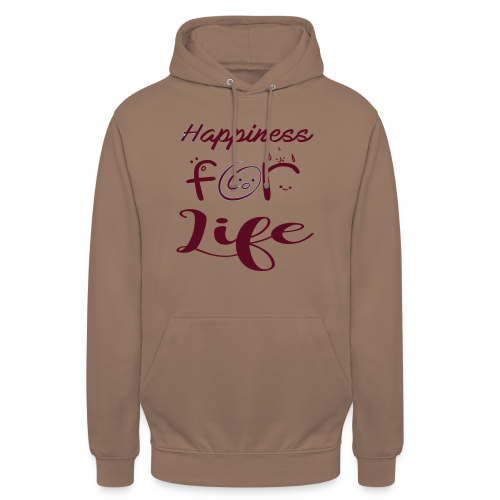 Happiness for life - 2017 - Unisex Hoodie