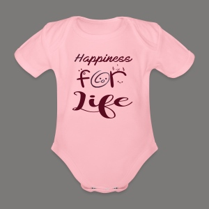 Happiness for life - 2017 - Baby Bio-Kurzarm-Body