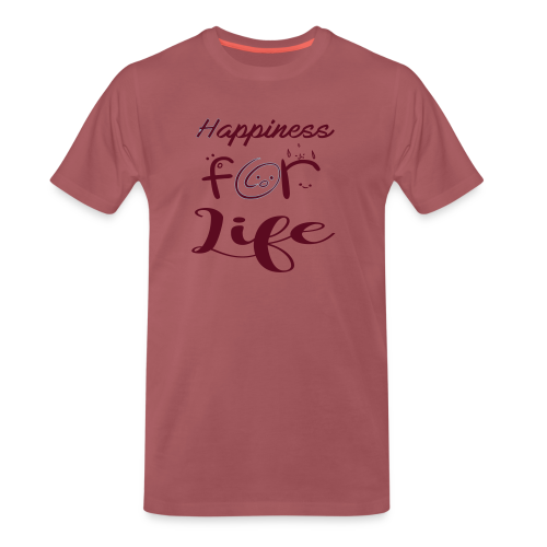 Happiness for life - 2017 - Männer Premium T-Shirt