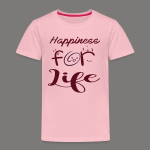 Happiness for life - 2017 - Kinder Premium T-Shirt