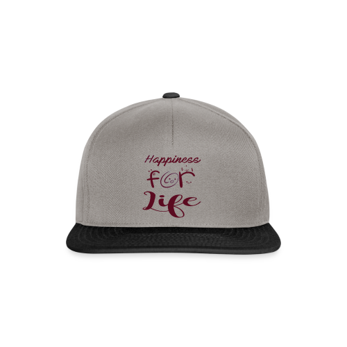 Happiness for life - 2017 - Snapback Cap