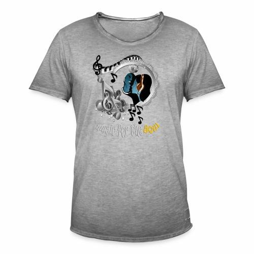 Soul-Music  - Men's Vintage T-Shirt