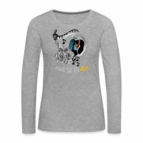 Soul-Music  - Women's Premium Longsleeve Shirt