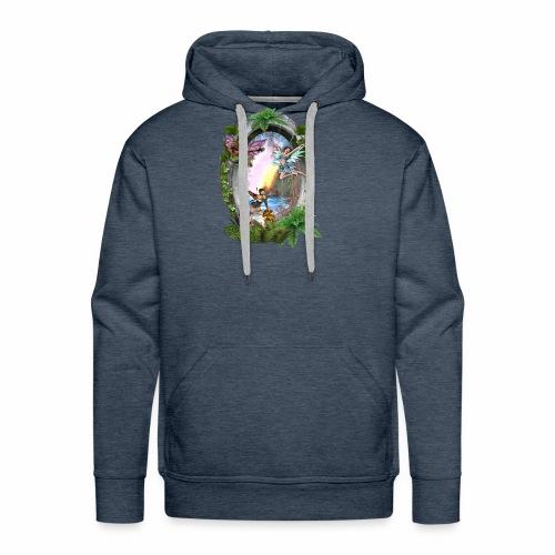 Mystical fairy garden - Men's Premium Hoodie