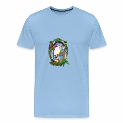 Mystical fairy garden - Men's Premium T-Shirt