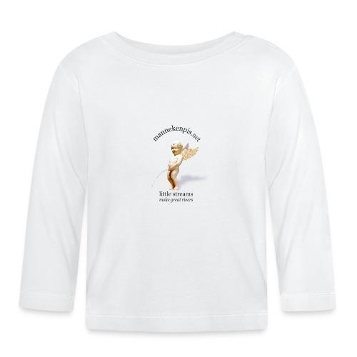 manneken-pis Ange - T-shirt manches longues Bébé
