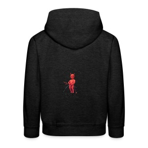 Diables Rouges  mannekenpis 小便小僧  - Pull à capuche Premium Enfant