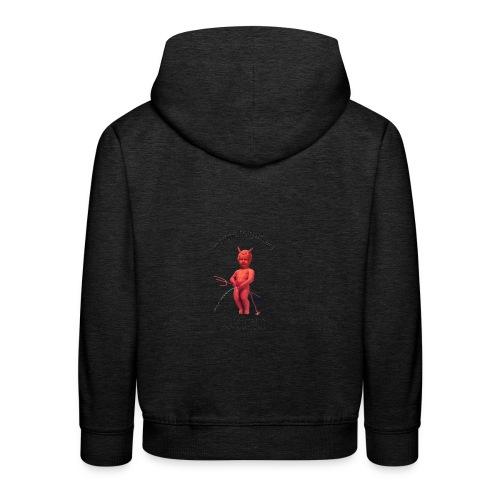 Diables Rouges  mannekenpis 小便小僧  - Pull à capuche Premium Enfant
