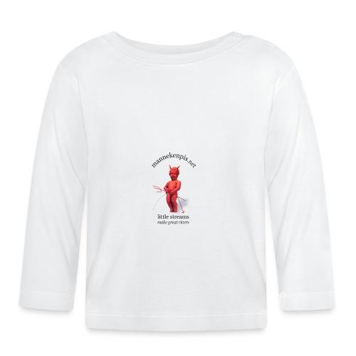 Diables Rouges  mannekenpis 小便小僧  - T-shirt manches longues Bébé