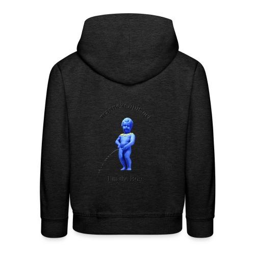 EU / enfant manneken pis - Pull à capuche Premium Enfant