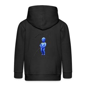 EU / enfant manneken pis - Veste à capuche Premium Enfant