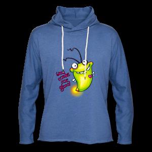 cloth bag glowworm - Leichtes Kapuzensweatshirt Unisex