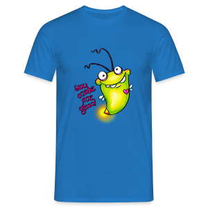 cloth bag glowworm - Männer T-Shirt