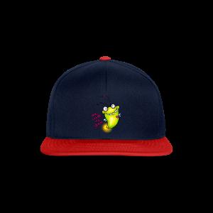 cloth bag glowworm - Snapback Cap