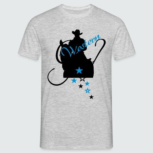 Western-Girl - Männer T-Shirt