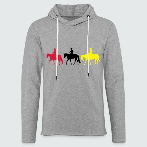 Drei-Westernreiter - Leichtes Kapuzensweatshirt Unisex