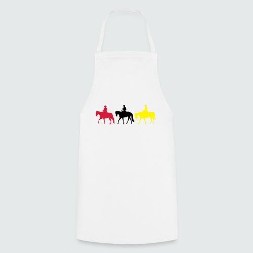 Drei-Westernreiter - Kochschürze