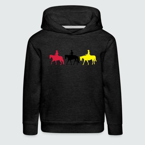 Drei-Westernreiter - Kinder Premium Hoodie