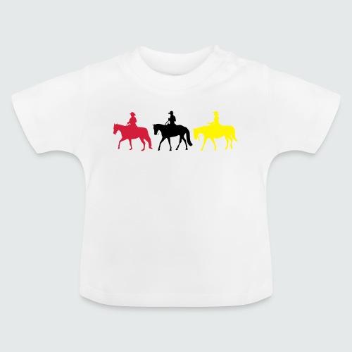Drei-Westernreiter - Baby T-Shirt