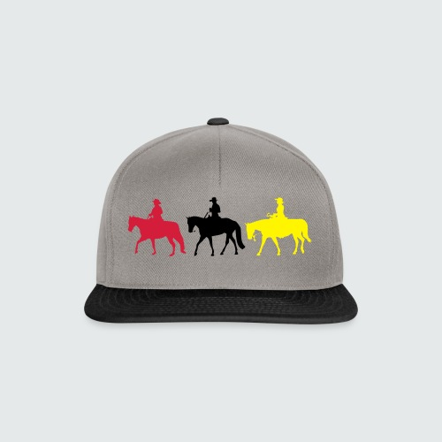 Drei-Westernreiter - Snapback Cap