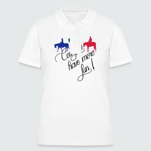 Westernreiter - Frauen Polo Shirt