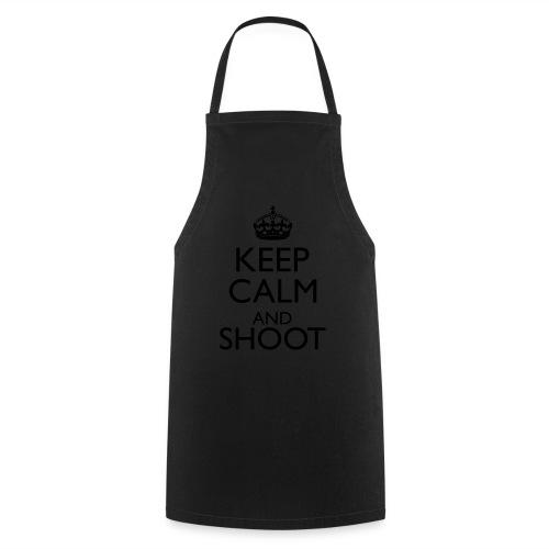 Keep Calm Hoodie beige - Kochschürze