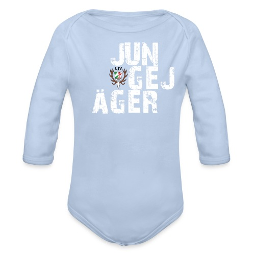 JungeJäger NRW grün - Baby Bio-Langarm-Body