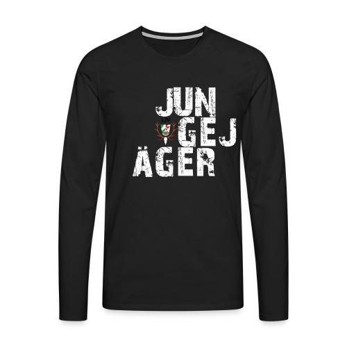 JungeJäger NRW grün - Männer Premium Langarmshirt