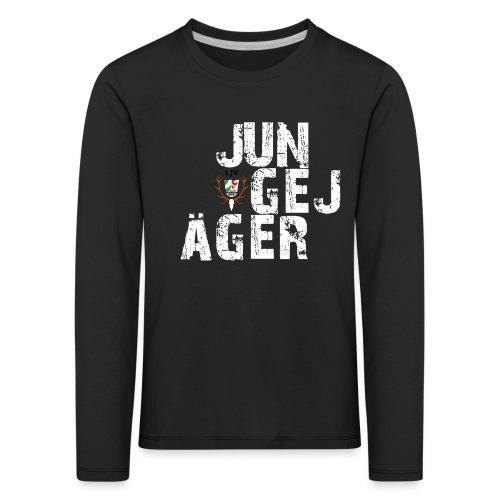 JungeJäger NRW grün - Kinder Premium Langarmshirt