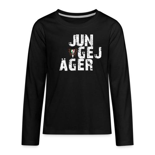 JungeJäger NRW grün - Teenager Premium Langarmshirt