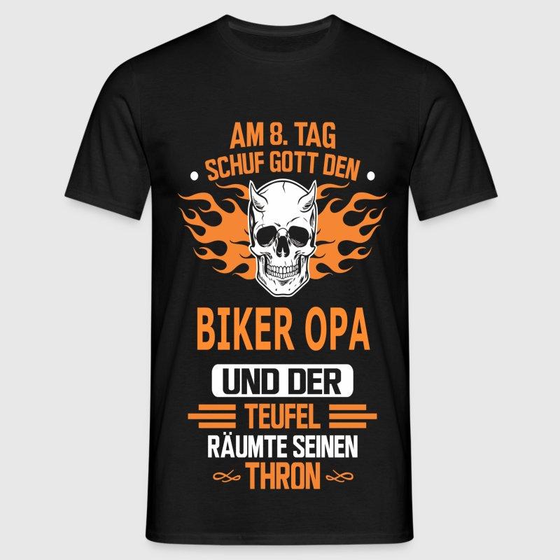 BIKER OPA T-Shirts - Männer T-Shirt