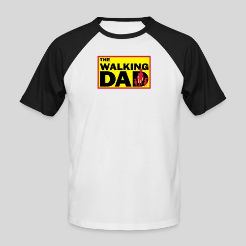 The Walking Dad - Männer Baseball-T-Shirt