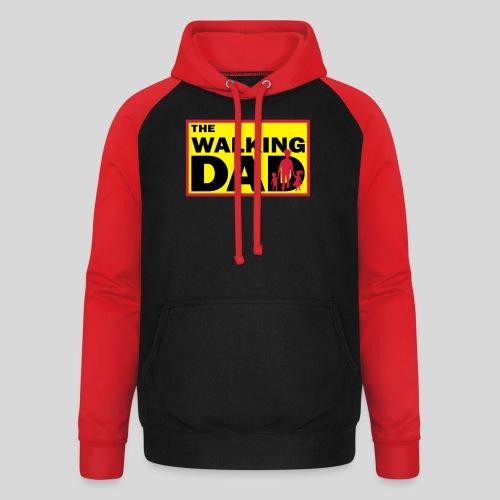The Walking Dad - Unisex Baseball Hoodie