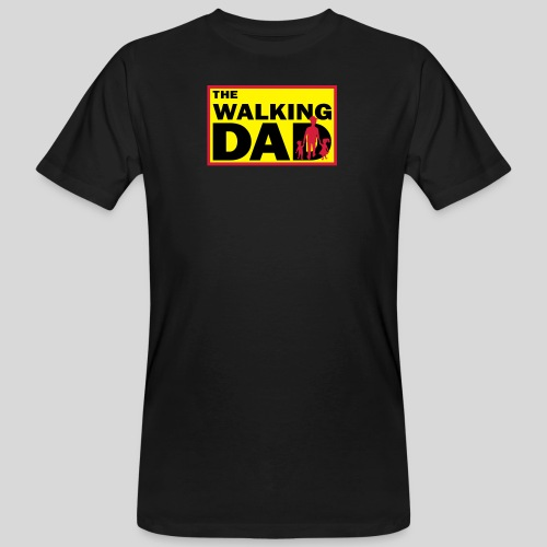The Walking Dad - Männer Bio-T-Shirt