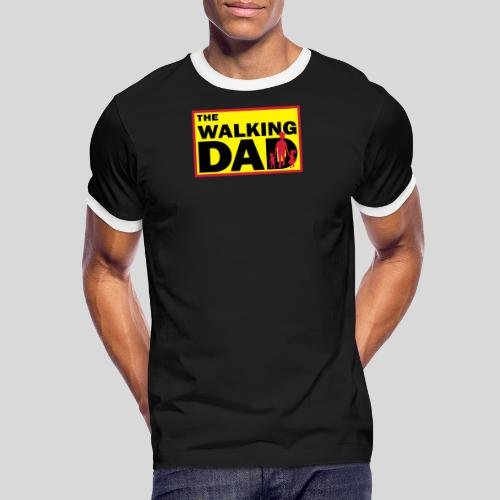 The Walking Dad - Männer Kontrast-T-Shirt