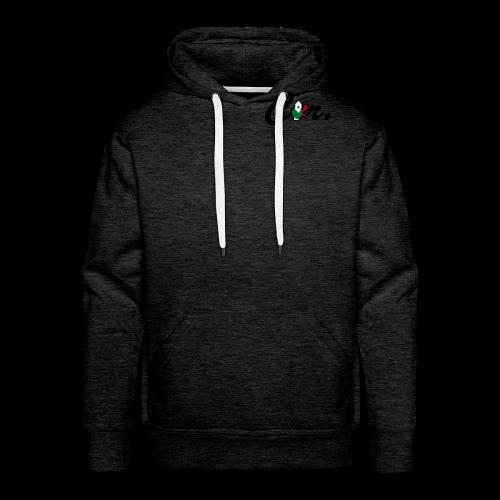 DH cor. shirt - Sweat-shirt à capuche Premium pour hommes