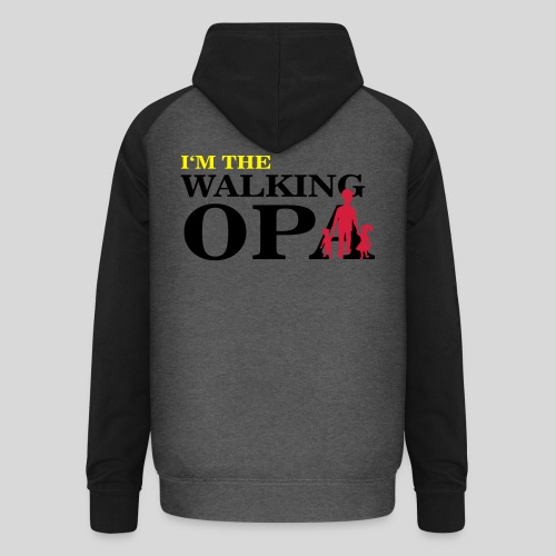 The Walking Opa - Unisex Baseball Hoodie