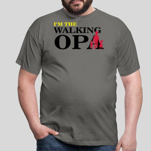 The Walking Opa - Männer T-Shirt